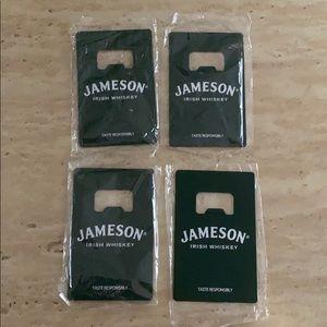 New Jameson bottle openers. Stocking stuffers